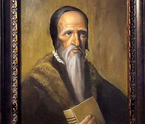 Portrait of John Calvin