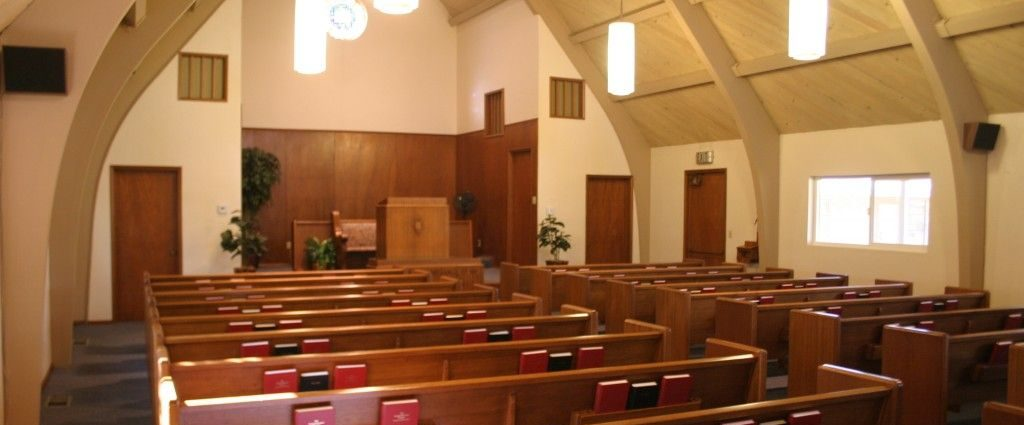 Interior of a Reformed church